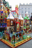 Annual Nativity Scenes Contest, Krakow, Poland. Stock Images