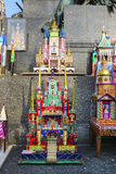 Annual Nativity Scenes Contest, Krakow, Poland. Stock Photography