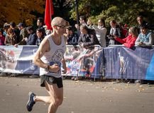 Annual New York City Marathon stock photos
