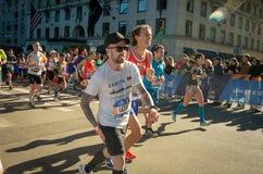 Annual New York City Marathon stock image