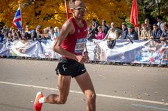 Annual New York City Marathon royalty free stock photo