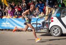 Annual New York City Marathon stock images