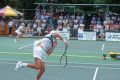 Annual Ojai Amateur Tennis Tournament Stock Images