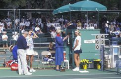 Annual Ojai Amateur Tennis Tournament Royalty Free Stock Photos
