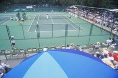 Annual Ojai Amateur Tennis Tournament, Royalty Free Stock Image