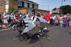 The Annual Oyster Parade in Whitstable Kent, UK Stock Photography