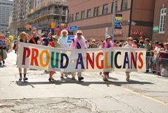Annual Pride Parade, Toronto Royalty Free Stock Image