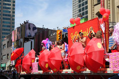 Annual Pride Parade in Toronto Stock Photography