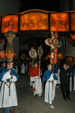 The annual procession to Jesus Christ at Easter in Mendrisio Royalty Free Stock Photos