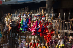 Annual puppet of Myanmar Royalty Free Stock Photography