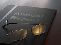Annual Report Stock Photo
