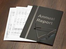 Annual Report Royalty Free Stock Photography