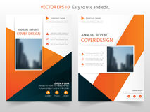 annual report Brochure design template vector. Business Flyers infographic magazine poster flyer Stock Photo