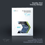 Annual report, business abstract vector template. Brochure desig. N, cover modern layout, poster, flyer in A4 with colourful rectangles, arrows, shadows for tech Stock Image