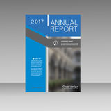 Annual report business magazine vector template. Cover book presentation in abstract design. Brochure background Royalty Free Stock Images