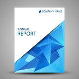 Annual report cover in abstract design. Illustration of Annual report cover in abstract design stock illustration