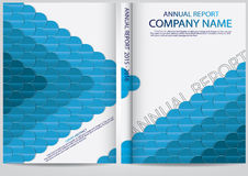 Annual report cover  design Royalty Free Stock Photography