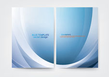 Annual report cover  design Stock Image