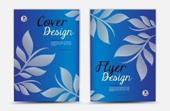 Annual report cover design vector design, brochure flyer, mgazine ad, advertisement, book cover layout, poster, catalog, newspaper royalty free illustration