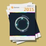Annual report Design, vector Illustration Stock Image