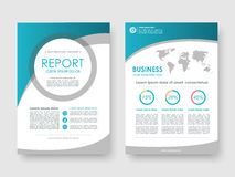 Annual report, flyer, brochure Royalty Free Stock Images