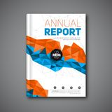 Annual report flyer Stock Photography
