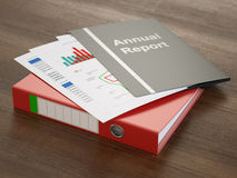Annual Report Stock Photos