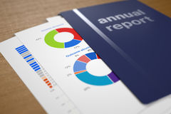 Annual Report Stock Images