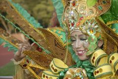 ANNUAL SOLO BATIK CARNIVAL Royalty Free Stock Photos
