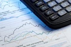 Annual statistics report Stock Photos