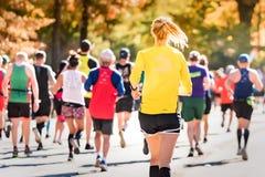 Annual TCS New York City Marathon 2018 royalty free stock image