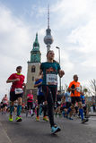The annual 37th Berlin Half Marathon Royalty Free Stock Images