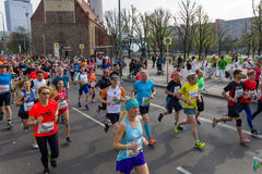 The annual 37th Berlin Half Marathon Stock Image