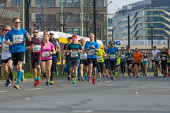 The annual 37th Berlin Half Marathon Stock Photos