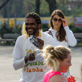 The annual 37th Berlin Half Marathon Royalty Free Stock Image