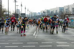 The annual 37th Berlin Half Marathon Royalty Free Stock Photography