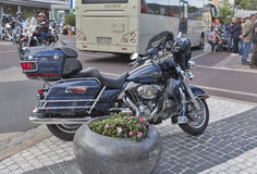 Annual Velden European Bike Week festival in Austria. Stock Image