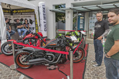 Annual Velden European Bike Week festival in Austria. Stock Photo