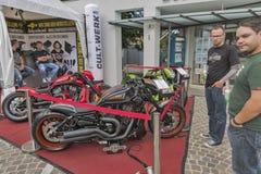 Annual Velden European Bike Week festival in Austria. Stock Photo