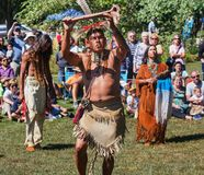 Annual Virginia Indian Festival Royalty Free Stock Photography