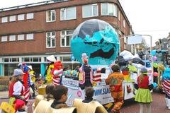 Annual Winter Carnival in Gorinchem. Royalty Free Stock Photos