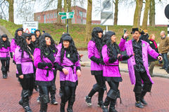 Annual Winter Carnival in Gorinchem. Stock Images