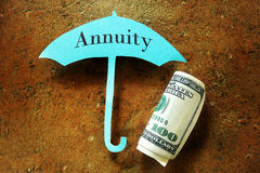 Annuity concept Royalty Free Stock Image