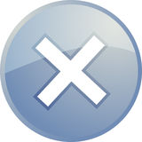 annulez la navigation de graphisme Photos libres de droits