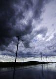 Annullando dopo la tempesta fotografie stock libere da diritti