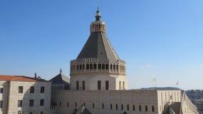 annunciation βασιλική Ισραήλ nazareth Στοκ εικόνες με δικαίωμα ελεύθερης χρήσης