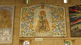 annunciation βασιλική Ισραήλ nazareth Στοκ Εικόνες