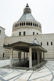 annunciation βασιλική nazareth Στοκ φωτογραφία με δικαίωμα ελεύθερης χρήσης