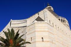 annunciation βασιλική nazareth Στοκ Φωτογραφία