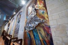 annunciation βασιλική nazareth Στοκ εικόνες με δικαίωμα ελεύθερης χρήσης
